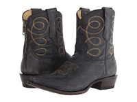 Stetson Abby Black Sanded And Distressed Women's Zip Boots