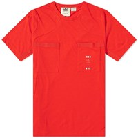 Adidas Consortium X Oyster Holdings 48 Hour Tee Red