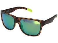 Smith Optics Lowdown Xl Matte Tortoise Neon Chromapop Sun Green Mirror Lens Fashion Sunglasses