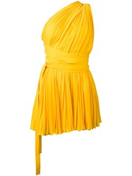 Dsquared2 La Mirage Dress Yellow Orange