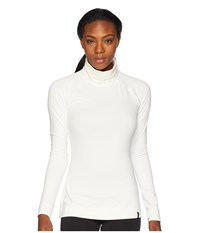 Spyder Echo Turtleneck Top White White Long Sleeve Pullover
