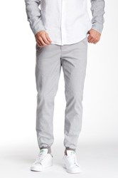 Vince Ankle Zip Jogger Pant Gray