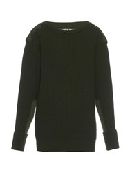 Yeezy Season 1 Military Ribbed Knit Wool Sweater