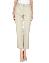 Henry Cotton's Trousers Casual Trousers Women Light Grey