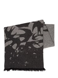 Mcq By Alexander Mcqueen Swallow Intarsia Wool Blend Stole