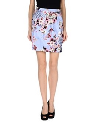 Alice San Diego Knee Length Skirts Lilac