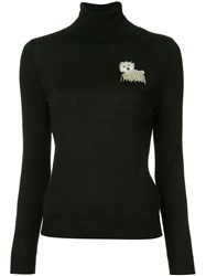Boutique Moschino Roll Neck Sweater Black