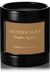 Burberry Beauty Cedarwood Scented Candle Colorless