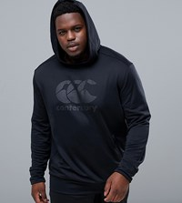 Canterbury Of New Zealand Plus Vapodri Hoodie In Black Exclusive To Asos
