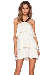 Rachel Zoe Vivre Tiered Halter Dress Ivory
