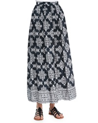 Tolani Margie Tribal Print Maxi Skirt