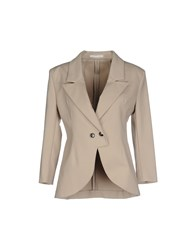Cnc Costume National Blazers Beige