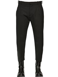 Diesel Black Gold Techno Cool Wool Cropped Pants