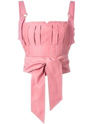 Rachel Gilbert Jorja Crop Top Pink