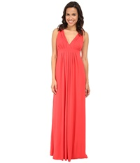 Tart Chloe Maxi Hibiscus Women's Dress Pink