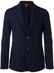Barena Two Button Blazer Blue