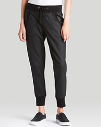 True Religion Jogger Coated Banded Skinny Black