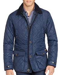 Polo Ralph Lauren Diamond Quilted Jacket Clg Navy