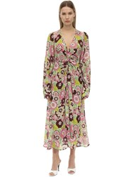 Dodo Bar Or Anny Floral Printed Cotton Maxi Dress Pink