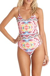 Billabong Women's Geo Print One Piece Swimsuit