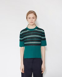 Marni Crew Neck Sweater Jade