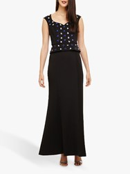 Phase Eight Collection 8 Louise Embellished Dress Black