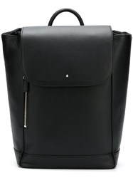 Montblanc Medium Drawstring Backpack Black