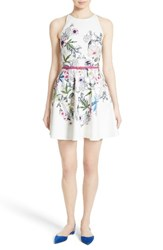Ted Baker Women's London Samm Floral Fit And Flare Dress