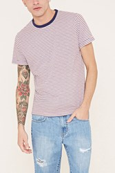 Forever 21 Striped Cotton Blend Tee