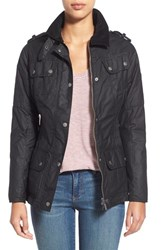 Women's Barbour 'Fireblade' Waxed Cotton Jacket