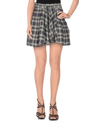 Denim And Supply Ralph Lauren Skirts Mini Skirts Women Grey