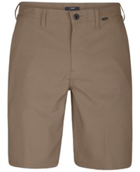 Hurley Men's Dri Fit Chino Shorts Khaki