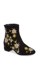 Topshop Women's Blossom Embroidered Bootie