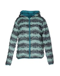 Duck Farm Coats And Jackets Jackets Women Light Green