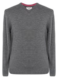 Thomas Pink Men's Hawthorne Jumper Charcoal