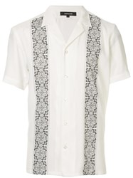 Loveless Printed Short Sleeve Shirt White