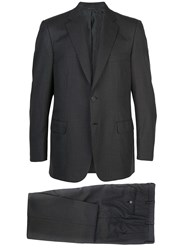 Brioni Pinstriped Wool Suit Grey