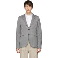 Harris Wharf London Blue 2B Blazer
