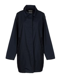 Ecoalf Overcoats Dark Blue