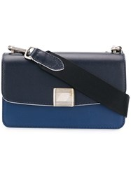 Golden Goose Deluxe Brand Mini Valentina Shoulder Bag Blue