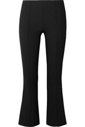 The Row Beca Cady Flared Pants Black