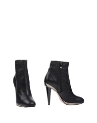 Pinko Grey Ankle Boots Black