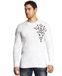 Affliction Abrasive Thermal White