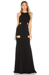 Jay Godfrey Becker Gown Black