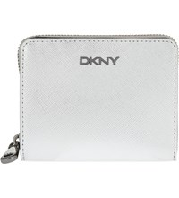 Dkny Bryant Park Saffiano Leather Carryall Purse Silver