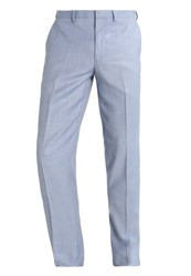 Burton Menswear London Suit Trousers Blu Blue