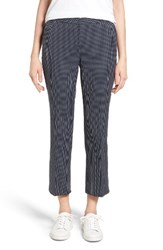 Nordstrom Women's Collection Dot Crop Flare Leg Pants