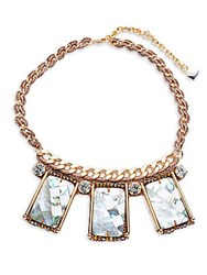 Nocturne Crystal Statement Necklace Gold
