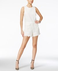 Guess Sanne Cutoff Romper Scuffy