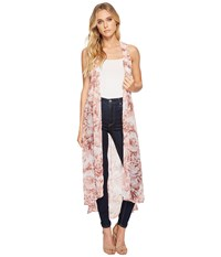Collection Xiix Wild Flower Duster Peach Bud Clothing Pink